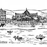 La passerelle du Casino de Sablettes-les-Bains