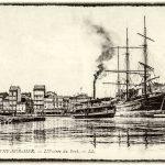 Les grands voiliers dans le port de La Seyne