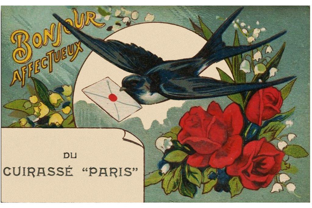 Le lancement du cuirassé Paris à La Seyne sur mer en 1912