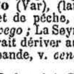 La Seyne : L'origine du nom...