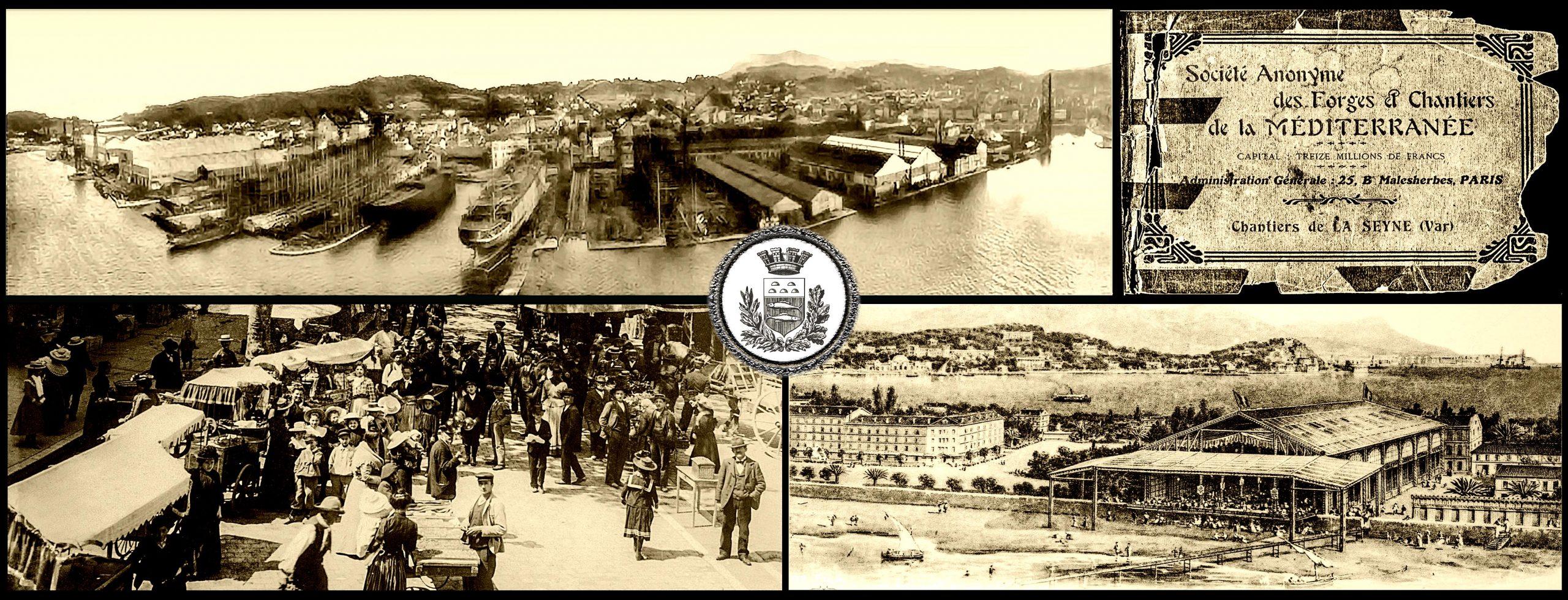La Seyne en 1900
