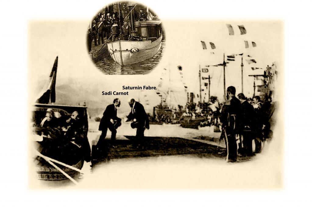 Le Président de la République Française à La Seyne sur mer (1893)