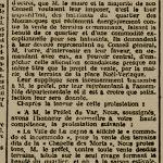 La vente du terrain de la chapelle des morts, l'emplacement actuel de l'ex Atelier Mécanique (1906)