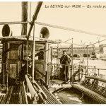 Le débarcadère du port en activité