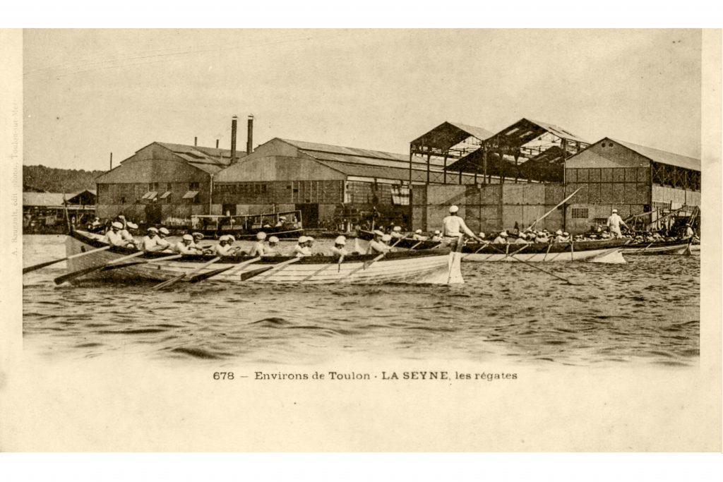 Les régates à l'aviron
